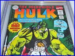 Incredible Hulk #393 CGC SS 9.8 Triple Signature Autograph STAN LEE SIMONSON POW