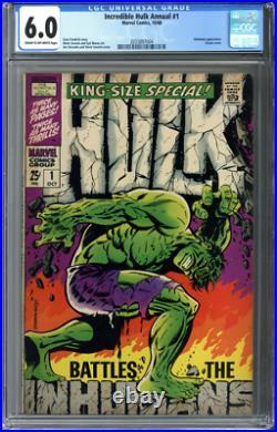 Incredible Hulk Annual #1 CGC 6.0