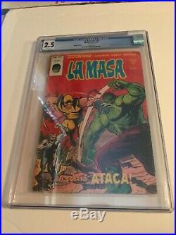 La Masa Spanish (1970 Marvel / Mundi) Hulk 180 / 181 Reprint CGC 2.5! SEE PICS