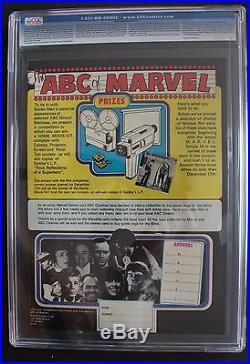 MIGHTY WORLD OF MARVEL 220 SGT FURY 1 Nick 1976 Luke Cage HULK Daredevil CGC 9.8