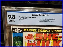 Marvel Savage She-Hulk #1 CBCS 9.8 1980 1st appearance origin She Hulk, not CGC