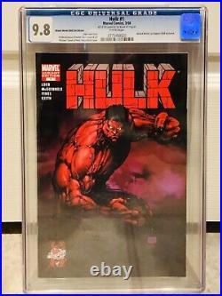 Rare Wizard World 2008 Exclusive Variant Edition Hulk #1 Cgc 9.8 1st Red Hulk
