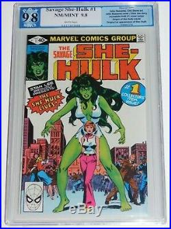 Savage She-Hulk #1 9.8 PGX 1st appearance of the She Hulk Like CGC CBCS