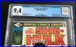 Savage She-Hulk #1 CGC 9.4 NM WP, 1st Appearance and Origin of She-Hulk Marvel