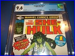 Savage She-Hulk #1 Hot Bronze Age Key Origin/1st Appearance CGC 9.6 NM+ Red WOW