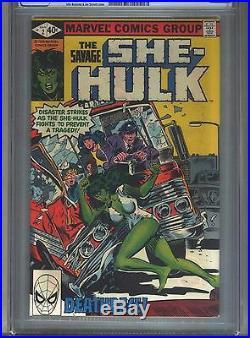 Savage She-Hulk #2 CGC 9.6 (1980) White Pages