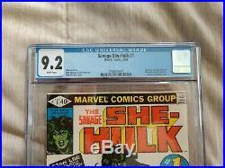 Savage She-hulk 1 Cgc 9.2 Origin & 1st She-hulk Jennifer Walters