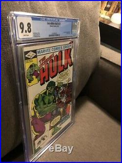THE INCREDIBLE HULK #271 1st Rocket Raccoon CGC 9.8 Marvel Comics 1982