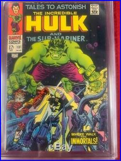 Tales to Astonish 101 and Incredible Hulk 102 (last issue of Tales to Astonish)
