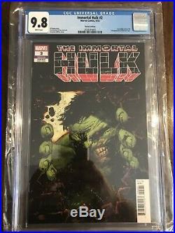 The Immortal Hulk #2 Zaffino 125 Variant CGC 9.8 1st Doctor Frye Super Rare