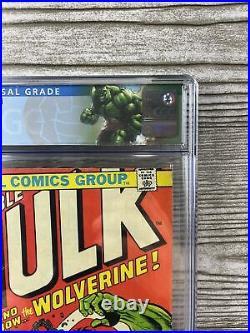 The Incredible Hulk #181, CGC 5.5 Nice