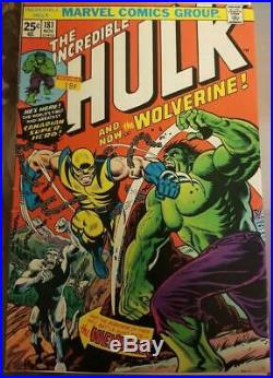 The Incredible Hulk #181 (Marvel) VG+! No MVS has the look of a CGC 7.5/8.0