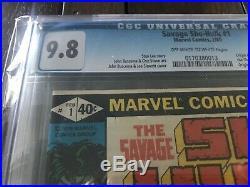 The Savage She-Hulk #1 (1980, Marvel) CGC 9.8 NM/MT Origin and 1st App! Stan Lee