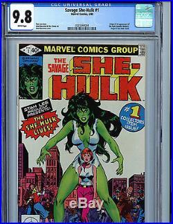 The Savage She Hulk #1 CGC 9.8 NM/MT 1980 Marvel Comics