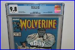 Wolverine 8 CGC 9.8 Classic Hulk Tuxedo Cover Marvel 1989 Movie Fresh New Slab