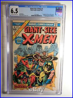 X-MEN GIANT SIZE No. 1 CGC 6.5 1975 1st app of Nightcrawler, Storm, Colossus